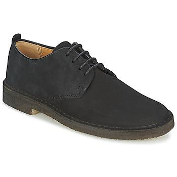 Sapatos Homem Sapatos Clarks DESERT LONDON Preto