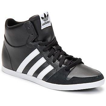 Sapatos Homem Sapatilhas de cano-alto adidas Originals ADILAGO MID Preto / Branco