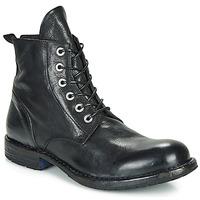 Sapatos Homem Botas baixas Moma CUSNA NERO Preto