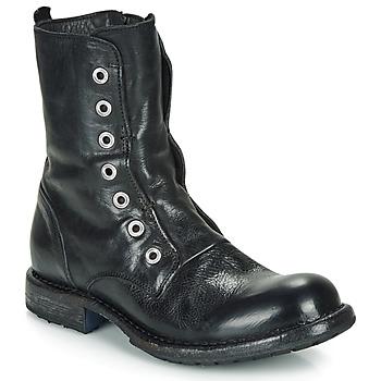 Sapatos Mulher Botas baixas Moma CUSNA NERO Preto