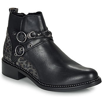 Sapatos Mulher Botas baixas Regard ROABIL V2 METALCRIS Preto