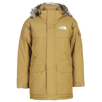 Textil Homem Parkas The North Face MEN'S MC MURDO Camel