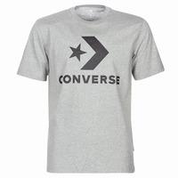 Textil Homem T-Shirt mangas curtas Converse STAR CHEVRON Cinza