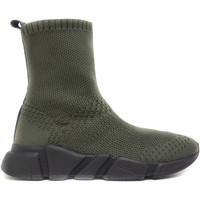 Sapatos Mulher Sapatilhas de cano-alto Nae Vegan Shoes Lexa Green verde