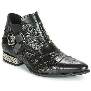 Sapatos Homem Botas baixas New Rock BRAVA Preto