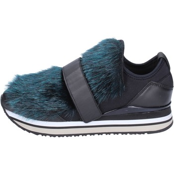 Sapatos Mulher Slip on Crime London Sneakers BS950 Preto
