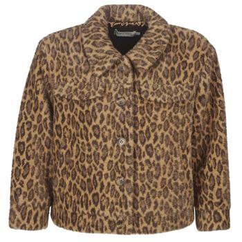 Textil Mulher Jaquetas See U Soon 9262153 Leopardo