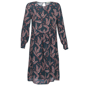 Textil Mulher Vestidos compridos See U Soon 9222127 Marinho / Bordô