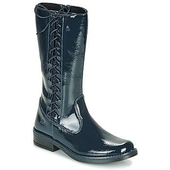 Sapatos Rapariga Botas Citrouille et Compagnie LOUVETTE Azul