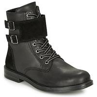 Sapatos Rapariga Botas baixas Citrouille et Compagnie LOMENE Preto