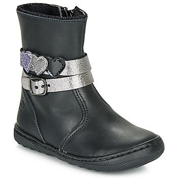 Sapatos Rapariga Botas baixas Citrouille et Compagnie LOMINE Preto
