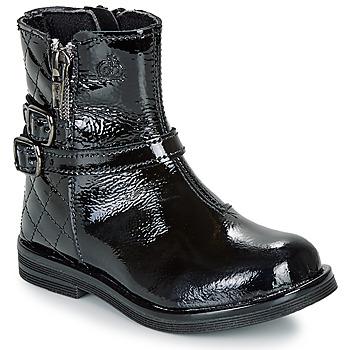 Sapatos Rapariga Botas baixas Citrouille et Compagnie LIMIDOU Preto