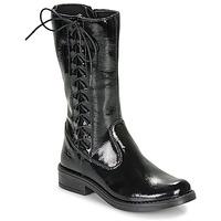 Sapatos Rapariga Botas Citrouille et Compagnie LAMINOTE Preto