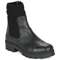 Sapatos Rapariga Botas baixas Citrouille et Compagnie LOBINOUTE Preto