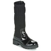 Sapatos Rapariga Botas Citrouille et Compagnie LAPADOU Preto