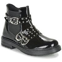Sapatos Rapariga Botas baixas Citrouille et Compagnie LIRONDEL Preto