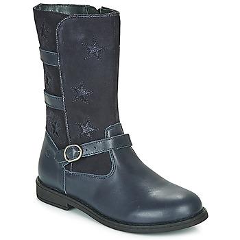 Sapatos Rapariga Botas Citrouille et Compagnie HANDRE Marinho