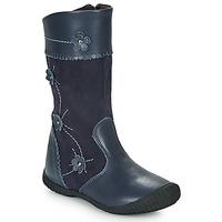 Sapatos Rapariga Botas Citrouille et Compagnie AMATIS Marinho