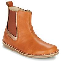 Sapatos Rapariga Botas baixas Citrouille et Compagnie LOUTE Camel