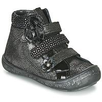 Sapatos Rapariga Sapatilhas de cano-alto Citrouille et Compagnie HODIL Preto