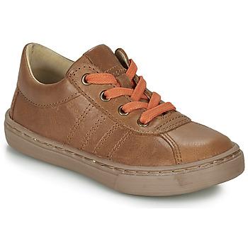 Sapatos Rapaz Sapatos Citrouille et Compagnie LUKITO Camel