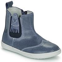 Sapatos Rapaz Botas baixas Citrouille et Compagnie LESKIMO Azul