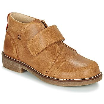 Sapatos Rapaz Botas baixas Citrouille et Compagnie LAPUPI Camel