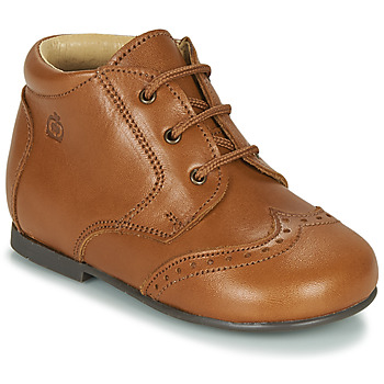 Sapatos Criança Botas baixas Citrouille et Compagnie LIMETTE Camel