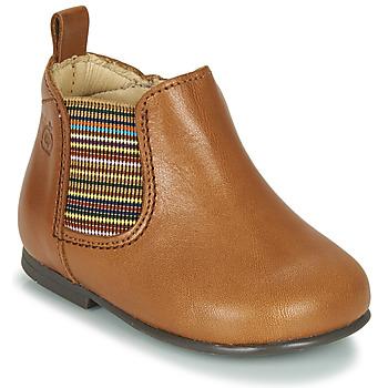 Sapatos Rapariga Botas baixas Citrouille et Compagnie LISETTE Camel