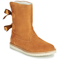 Sapatos Rapariga Botas baixas Citrouille et Compagnie LILINA Camel