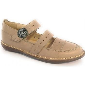 Sapatos Rapariga Sapatos & Richelieu Colores Shiny Beige Bege