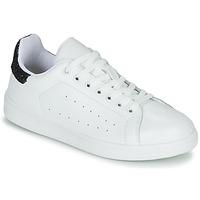 Sapatos Mulher Sapatilhas Yurban SATURNA Branco / Preto