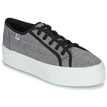 Sapatos Mulher Sapatilhas Yurban SUPERTELA Preto / Branco