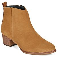 Sapatos Mulher Botins So Size MARTINO Camel
