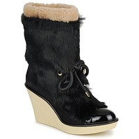 Sapatos Mulher Botins Sonia Rykiel HAIRY Preto