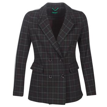Textil Mulher Casacos Benetton SUDIDEL Preto