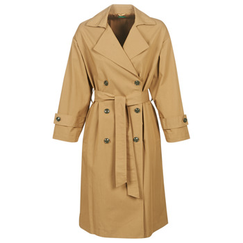 Textil Mulher Trench Benetton SOCRIA Bege / Escuro