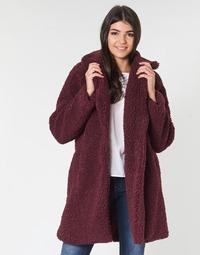Textil Mulher Casacos Naf Naf BIPROTEST Ameixa