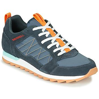 Sapatos Homem Sapatilhas Merrell ALPINE SNEAKER Azul / Laranja