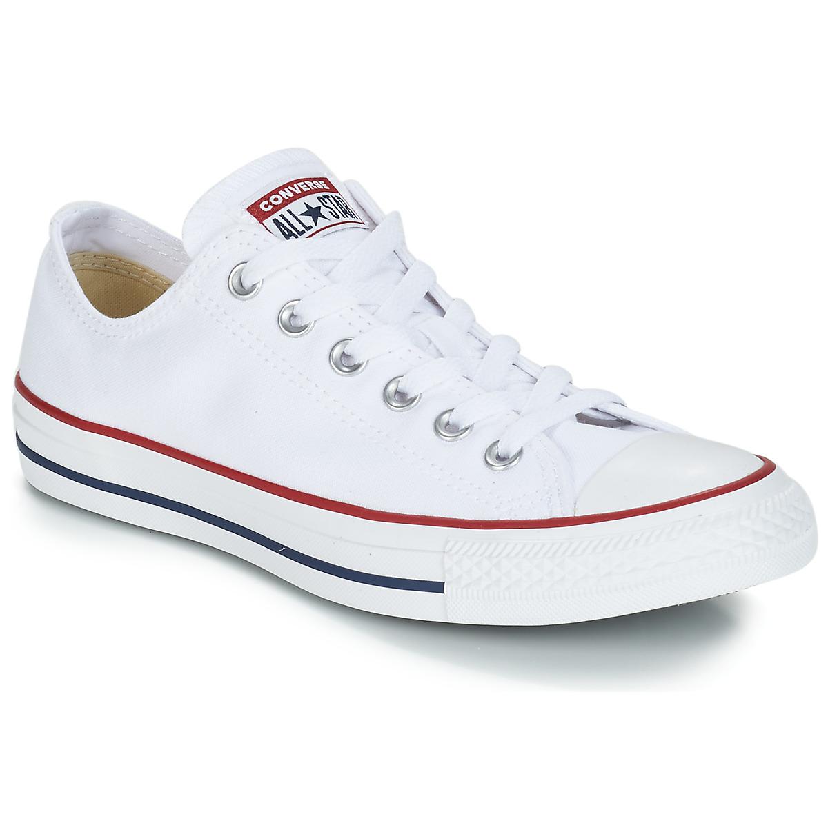 2bf28a4e966 Converse CHUCK TAYLOR ALL STAR CORE OX Branco - Entrega gratuita com a  Spartoo.pt ! - Sapatos Sapatilhas 67