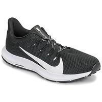 Sapatos Homem Sapatilhas de corrida Nike QUEST 2 Preto / Branco