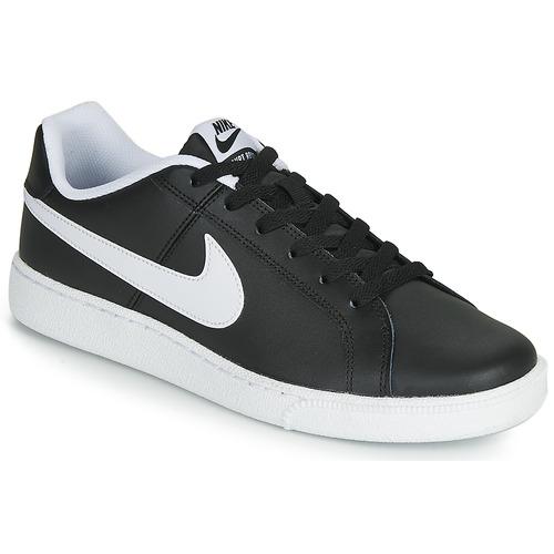 Sapatos Homem Sapatilhas Nike COURT ROYALE Preto / Branco