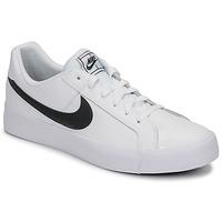 Sapatos Homem Sapatilhas Nike COURT ROYALE AC Branco / Preto