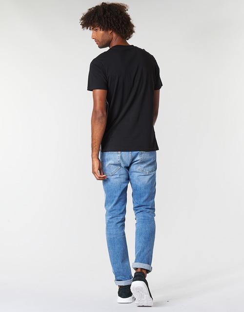 RAGGIO  Kappa  t-shirt mangas curtas  homem  preto