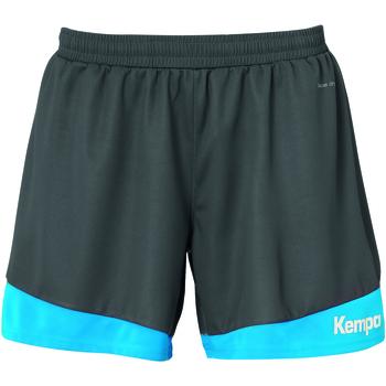 Textil Mulher Shorts / Bermudas Kempa Shorts Femme  Emtoion 2.0 bleu/noir