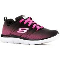 Sapatos Rapaz Sapatilhas Skechers Skech Appeal 20 Preto,Cor-de-rosa