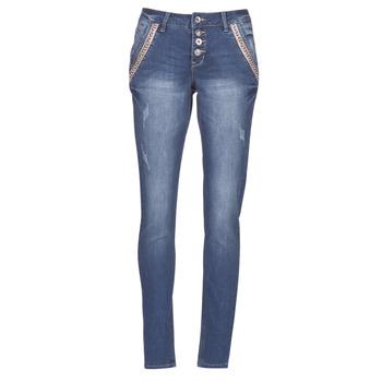 Textil Mulher Calças Jeans Cream DICTE Azul