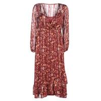 Textil Mulher Vestidos compridos Cream NILA Vermelho