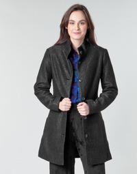 Textil Mulher Casacos Desigual SIMONE Preto