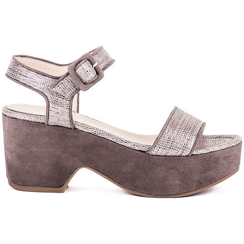 Sapatos Mulher Sandálias Unisa Sandálias Nefer Bege